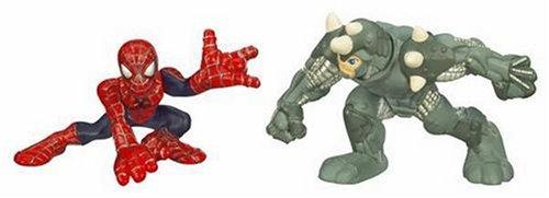 Spider-uomo Super Hero Squad Spider-uomo vs. Rhino