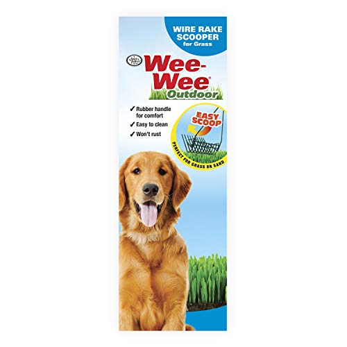 - Four Paws Grass Wire Rake Dog Scooper