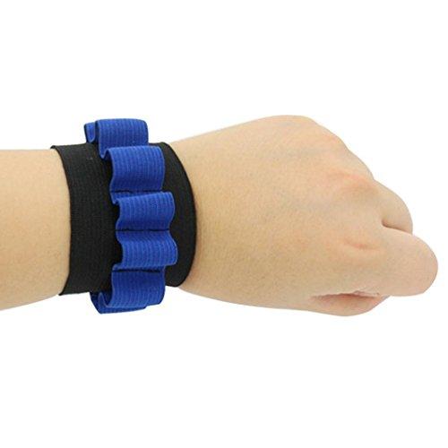 Sacow Wristband for Store Bullets, Vest Quick Reload Clips Foam Bracelet for Nerf N-Strike Elite Series