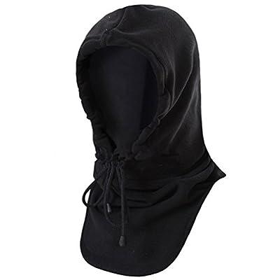 BESTEAM Fleece Balaclava Windproof Hat Ski Face Mask Fleece Hood Sports Mask