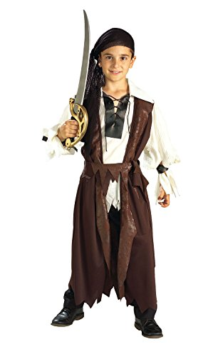 Cheap Kids Halloween Costumes (Rubies Halloween Concepts Children's Costumes Caribbean Pirate - Large)