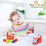 FUN LITTLE TOYS Kids Play Kitchen, Pretend Play Set