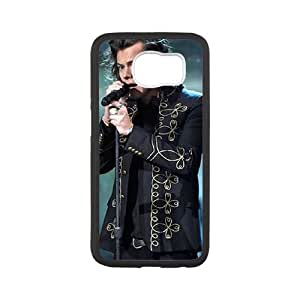 Harry Styles Samsung Galaxy S6 Cell Phone Case Black xlb-303468