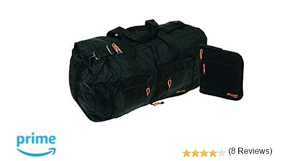Skypak 01) - Bolsa de viaje plegable (75 cm), color negro
