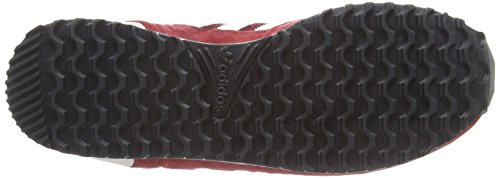 adidas ZX 700, Sneakers da Uomo Rosso (Cburgu/Ftwwht/Peagre)