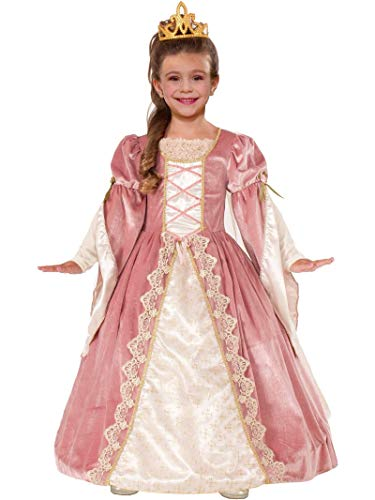 Forum Novelties Designer Collection Deluxe Victorian Rose Costume Dress, Child Medium]()