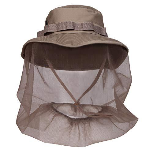 Rothco Boonie Hat w/ Mosquito Netting, 7 1/2, Khaki