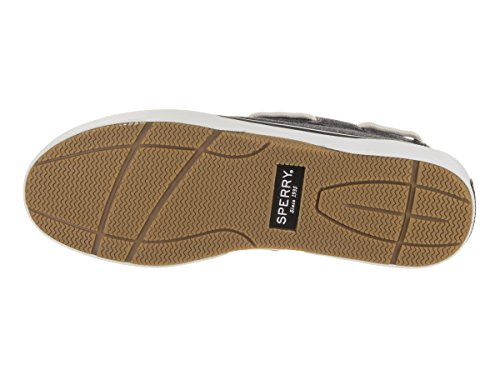 Sperry Top-Sider Mens Halyard 2I Jerzy Boat Shoe Charcoal 7qdsnR