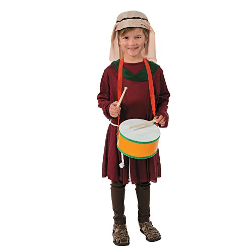 Christmas Drummer Boy Costumes - Little Drummer Boy Costume Set