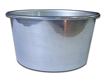 Forma molde Repostería de Aluminio para panettone Navidad Navidad 22 x 13H cm: Amazon.es: Hogar