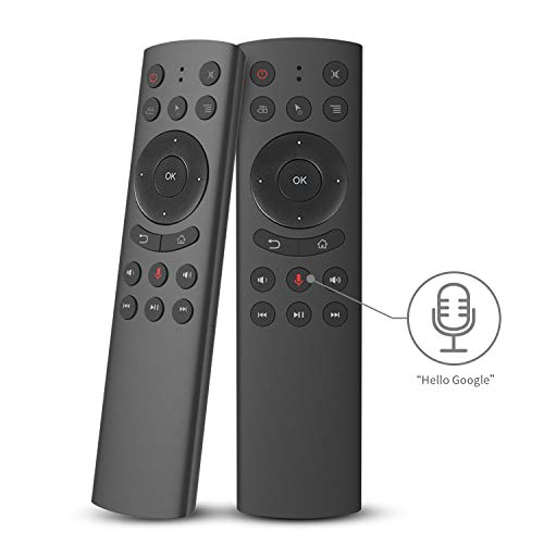 Air Remote Mouse with Voice in Put,2.4G Remote Control Compatible with Google Assistant,Best for Kodi,Android Smart TV,TV Box,HTPC,PC,Xbox,Raspberry pi,Roku.