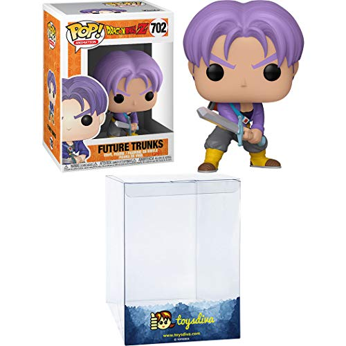 Future Trunks: Fun ko Pop! Animation Vinyl Figure & 1 Compatible Graphic Protector Bundle (702 - 44259 - B)