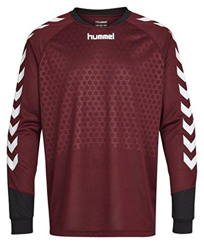 - Hummel Sport Hummel Essentials Goalkeeper Jersey, Maroon/Black, Large