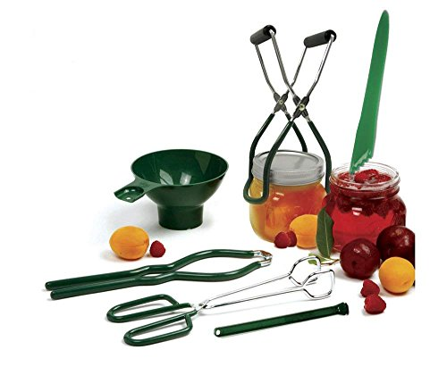 Norpro Canning Essentials Kit - Home Supplies Tool Set - Large Canning Rack + Great Digital Kitchen Timer by HG by Norpro (Image #2)