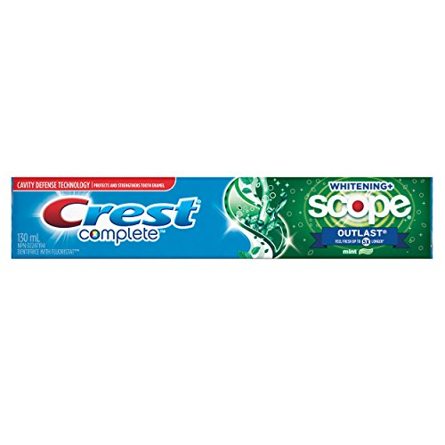 Crest Complete Whitening + Scope Outlast Toothpaste, Minty Fresh - 130 ml