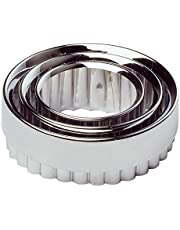 Chef Aid Metal Pastry Cutter Set