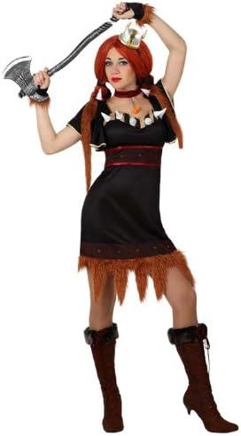 Atosa - Disfraz de vikinga para mujer, talla 42 (15414): Amazon.es ...