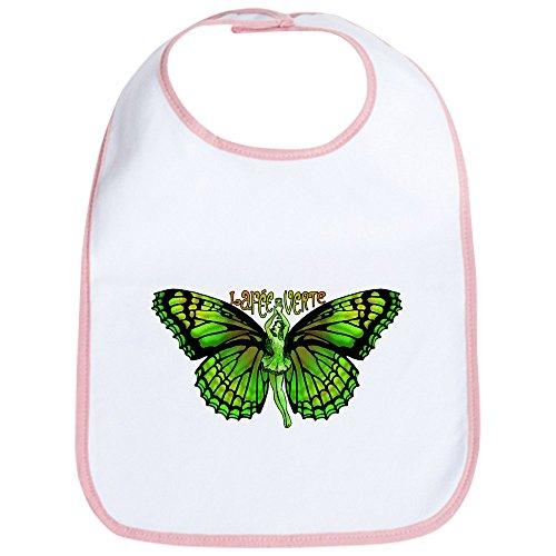 CafePress - Green Fairy Wings Spread Bib - Cute Cloth Baby Bib, Toddler Bib