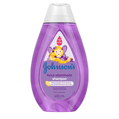 Shampoo Força Vitaminada Johnsons Baby
