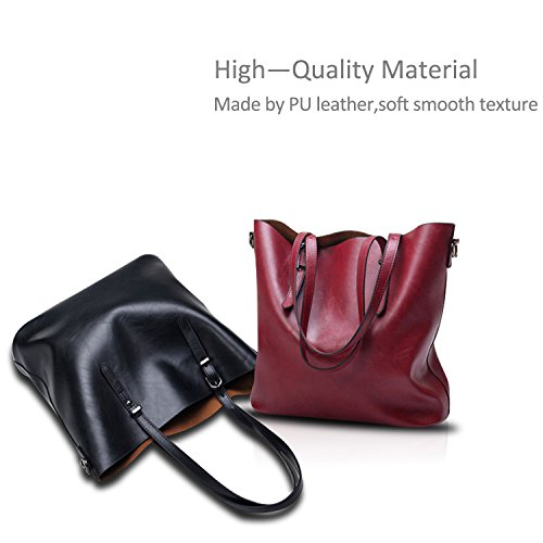 Messenger Women amp;Doris Handbag Soft Bag Ladies Casual Shoulder Crossbody Leather Black Tote Nicole Coffee PU UzwaxcR