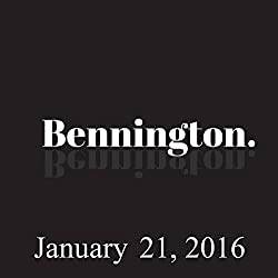 Bennington, Bonnie McFarlane and Rich Vos, January 21, 2016