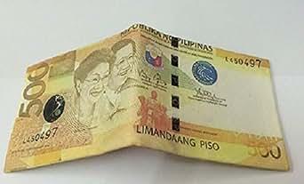 500 pesos money design wallet