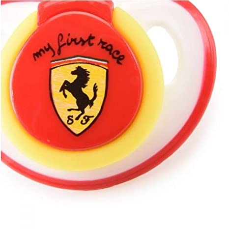 Original Ferrari Chupete en rojo con Scudetto Escudo My ...