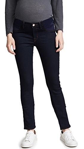J Brand Women's 3411 Maternity Skinny Jeans, Ink, Blue, 25