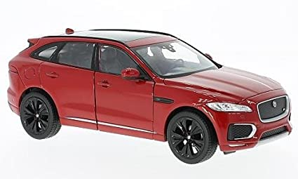 Jaguar F-Pace 2016 rot 1:24 Welly  Modellauto