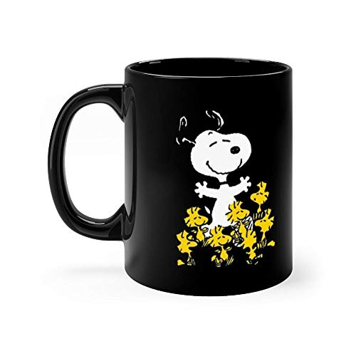 Peanuts Snoopy Chick Party 11 Oz Ceramic Coffee Mugs With C-shape Handle, Comfortable To Hold. 11 Oz Ceramic - Snoopy Chicks