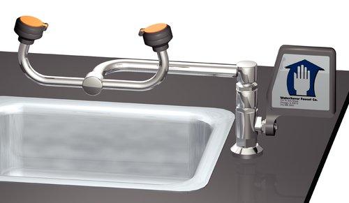 Watersaver Faucet - Ew805lh - Eyewash Dckmnt Autoflw Lft Hnd (each)