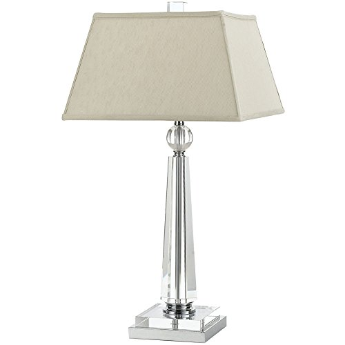 AF Lighting 8211-TL Cluny Crystal Table Lamp- Cream Shade (Tl Candice Olson Collection)