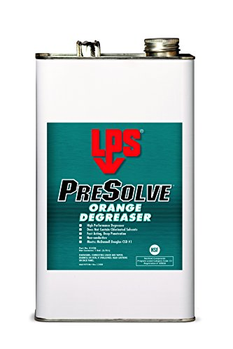 Citrus Bearing Cleaner (LPS PreSolve Orange Degreaser, 1 gal (Pack of 4))