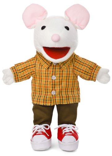 "14"" Mouse w/ Sneakers, Animal Hand Puppet"