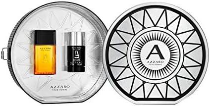 Giosal - Estuche para hombre Azzaro con perfume 50 ml + Deo Stick 75 ml: Amazon.es: Belleza