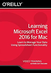 Learning Microsoft Excel 2016 for Mac [Online Code]