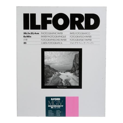 Ilford Multigrade IV RC Deluxe MGD.1M B&W Paper (8 x 10', Glossy, 25 Sheets Plus 10 Additional) 1170773