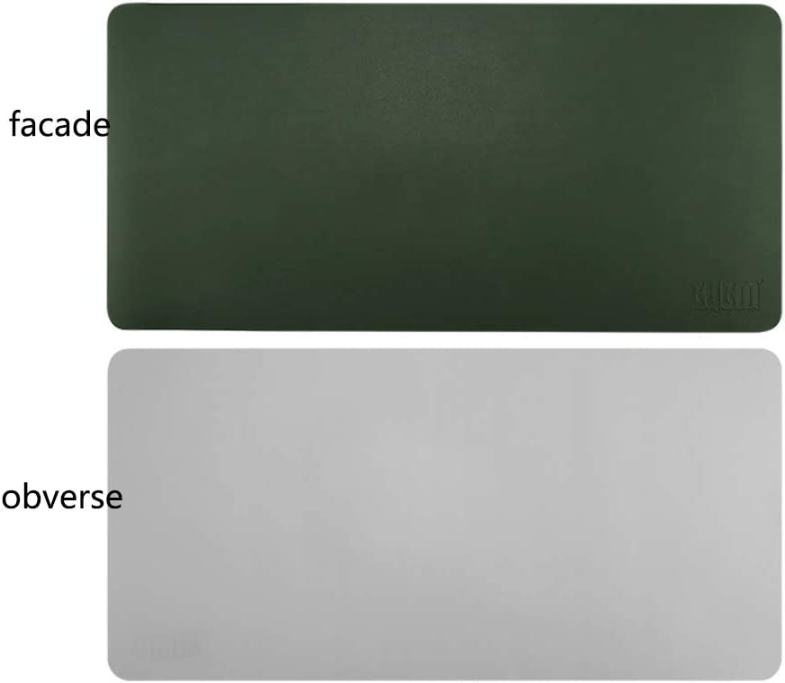 Extended Gaming Mouse Pad Leather Writing Mat Computer Keyboard Desk Pad Not-Slip Rubber Base Mousepad-e 1200x600mm
