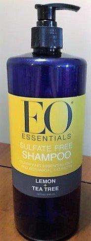 EO Essentials Sulfate Free Lemon and Tea Tree Shampoo 32fl oz ()