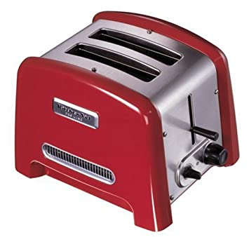 toaster kitchenaid candy apple pro line dp red