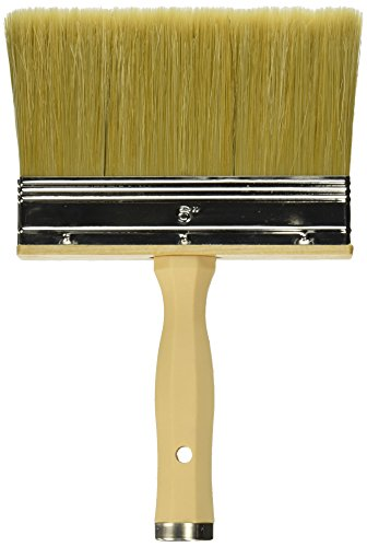 Linzer 0600 Project Select Premium Stain'N 3550 Paint Brush, 6 in Width, 6-Inch Stain, Polyester and Bristle Filament