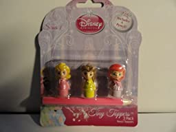 Disney Princess Tiny Toppers - 3 Pack Pencil Toppers