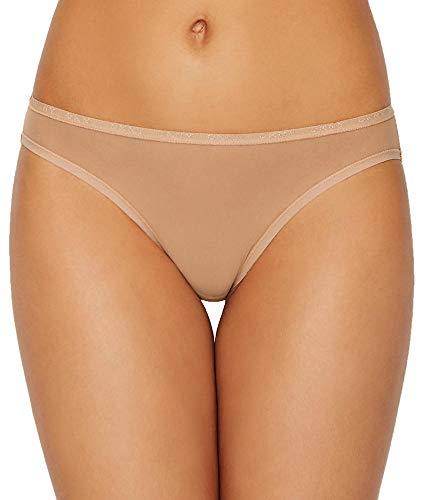 DKNY Intimates Women's Mix Match Mesh Bikini Glow Poz Medium (Thongs Low Dkny Rise)