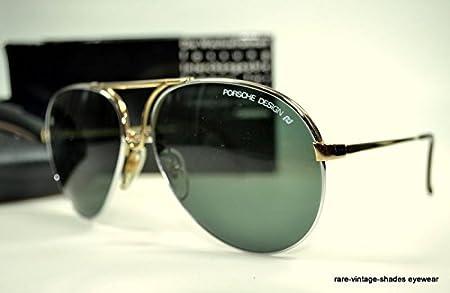 89feeacdcc20a Amazon.com  CARRERA PORSCHE DESIGN 80 s Vintage 5657 40 Sunglasses AVIATOR  60-15  Health   Personal Care