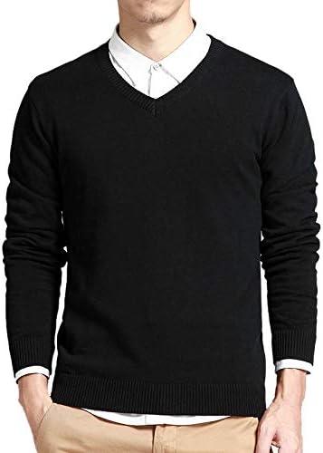 FEIDAO Hombr Jerseys Suéter De Algodón Hombres Suéteres De Manga ...