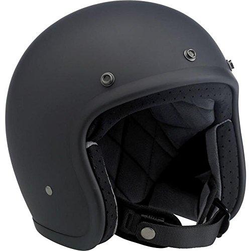 Price comparison product image Biltwell Inc. Bonanza Flat Black Open Face Helmet X-Large