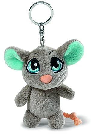 Amazon.com: NICI 37757 - Llavero ratón, 3.9 in, color gris ...