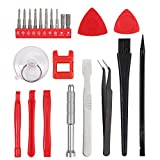 COLFULINE 23 in 1 Magnetic Precision Screwdriver Set Torx Star T6 T8 T9 T0 Phillips Portable Repair Screwdriver Open Pry Tool with Case for Xbox One/Xbox 360 Controller/PS3/PS4/Glass/Watch etc