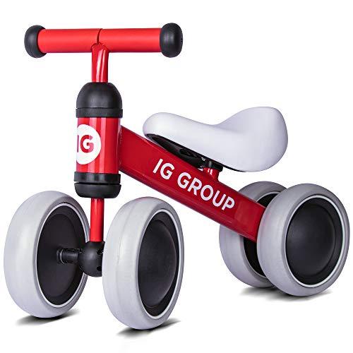 Balance Bike for Kids 1 2 3 Year Old, No Pedal Training Walking Bicycle, Unisex Toddler Bike for Boys and Girls