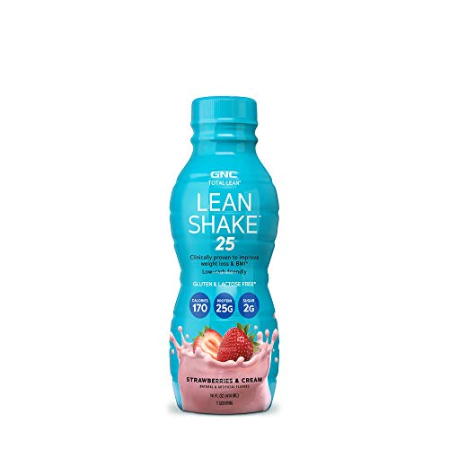 GNC Total Lean Lean Shake 25 - Strawberries and Cream